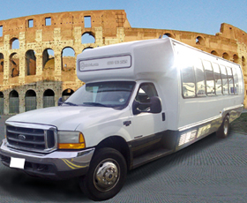 Disco Bus Party a Roma-Noleggio Limousine Roma